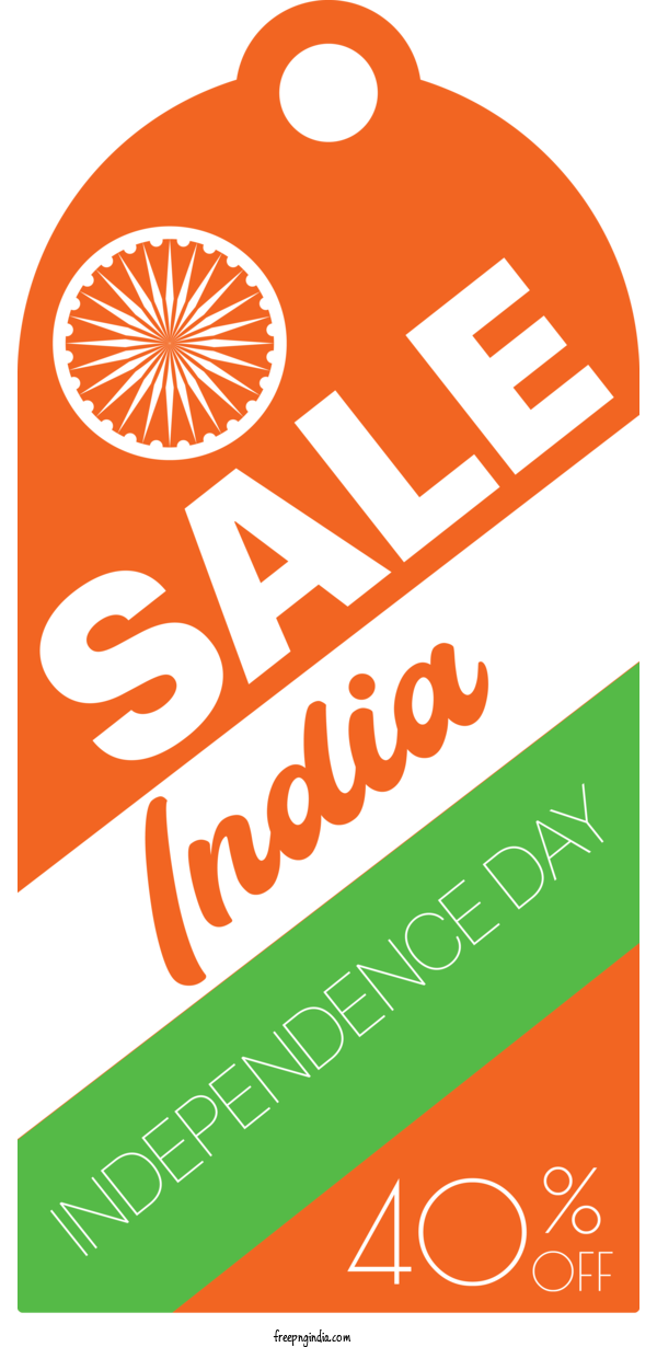 Transparent Indian Independence Day Logo Label.m Font For Independence Day Sale for Indian Independence Day
